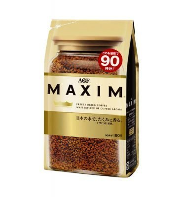 AGF Maxim Rich Aroma Instant Coffee Made in Japan