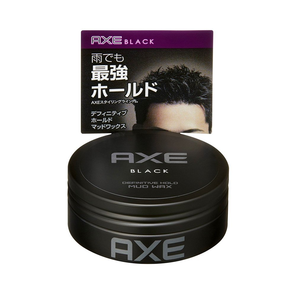 Axe Black Definitive Hold Mud Wax Made In An