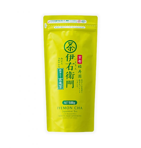 IYEMON Genmai Cha Tea with Matcha Made in Japan