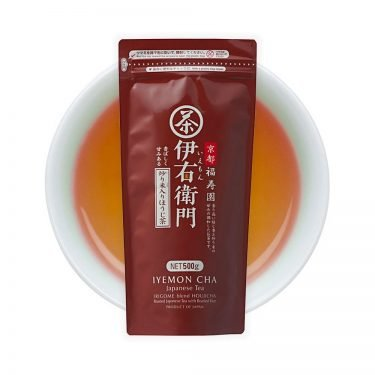 IYEMON Hojicha Tea with Roasted Rice Made in Japan
