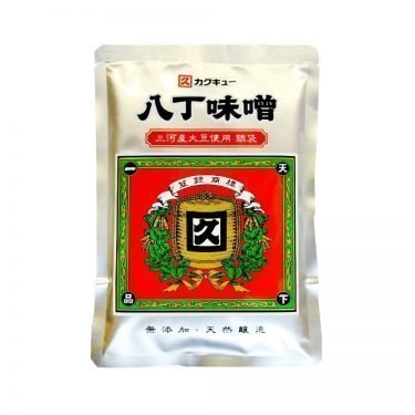 Kakukyu Mikawa soybeans Hatcho miso silver bag Made in Japan