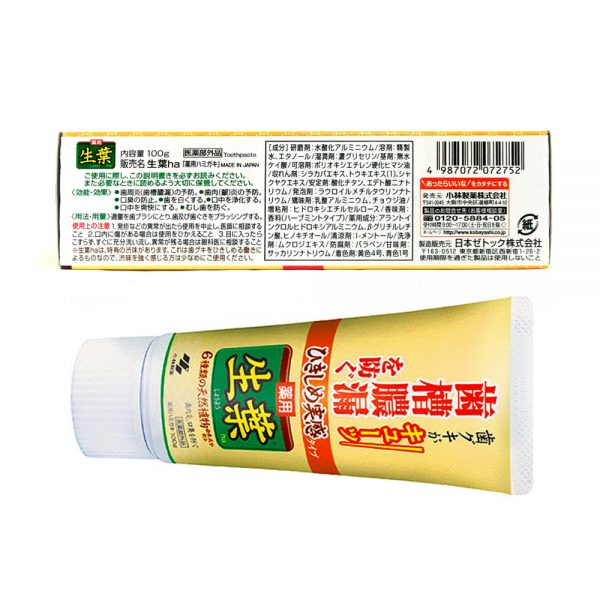 Kobayashi Shoyo Special Care Toothpaste Gum Treatment Made in Japan