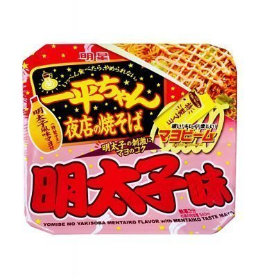 MYOJO Ippeichan Yakisoba Japanese Style Instant Noodles with Mentaiko Mayonnaise