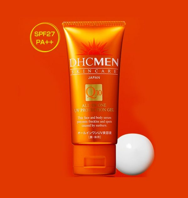 DHC MEN Q10 All in One UV Protection Gel