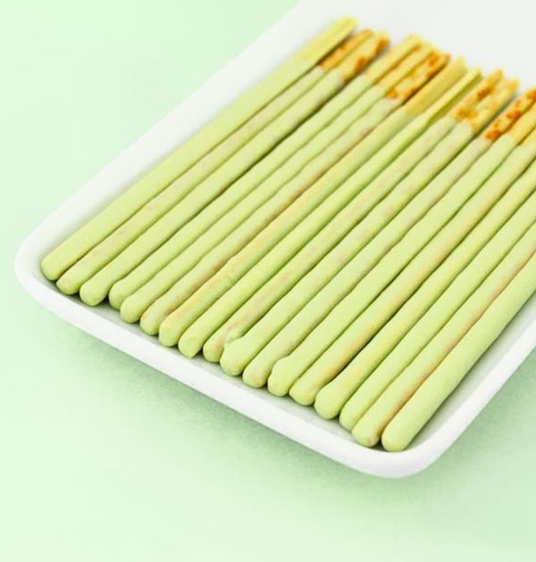 GLICO Pocky Green Apple Limited Version Made in Japan