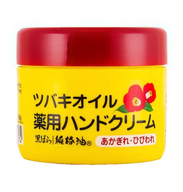 KUROBARA Camellia oil Organic Tsubaki Oil Medicated Hand Cream