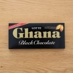 LOTTE Ghana Black Chocolate Bar Made in Japan