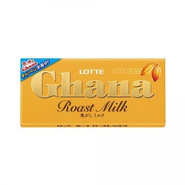 LOTTE Ghana Roast Milk Chocolate Bar Made in Japan