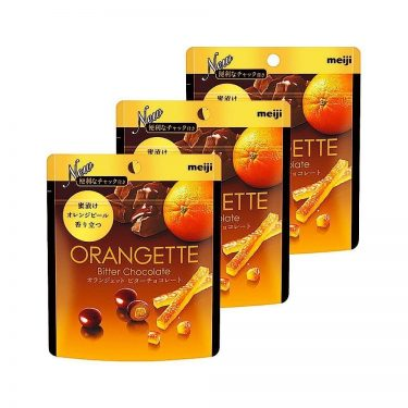 MEIJI Orangette Bitter Chocolate Made in Japan