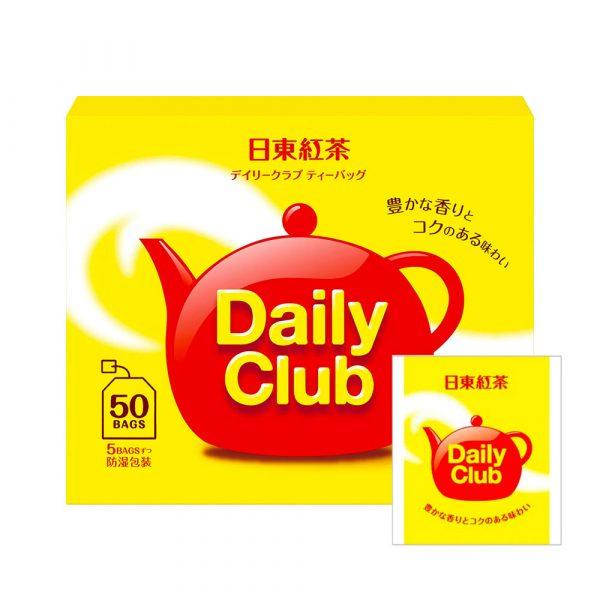 NITTOH KOCHA Daily Club Japanese Black Tea Teabags Made in Japan