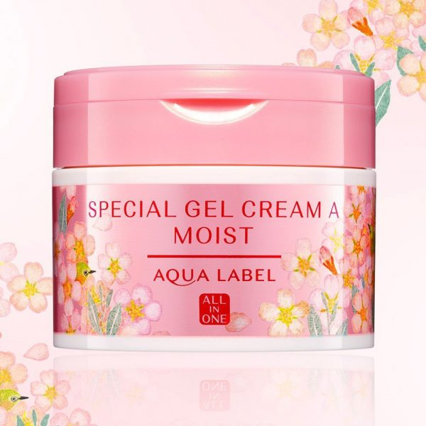 SHISEIDO Aqualabel All-in-One Special Gel Cream A Moist Made in Japan