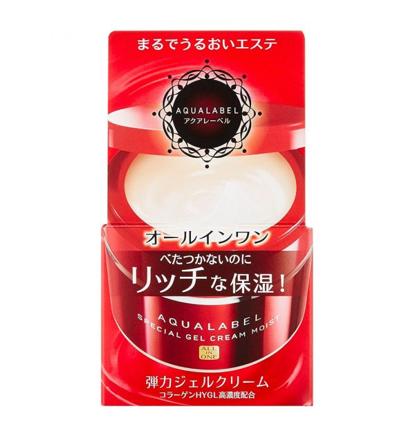 SHISEIDO Aqualabel All in One Special Gel Cream Moist Made in Japan