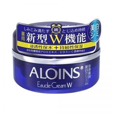 ALOINS Eaude Cream White Medicated Face Body Whitening Moisturizing Cream