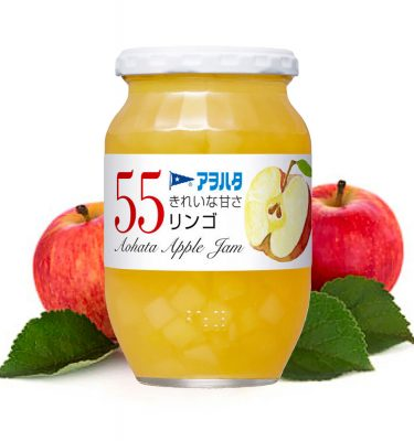 Aohata 55 Apple Japanese Jam 400g Made in Japan