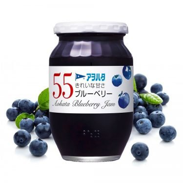 Aohata 55 Blueberry Japanese Jam 400g Made in Japan