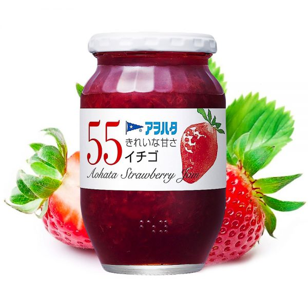 Aohata 55 Strawberry Japanese Jam 400g Made in Japan