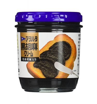 Aohata Black Sesame Cream 150g Made in Japan