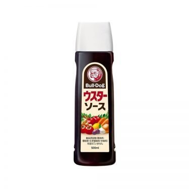 BullDog Worcestershire Spicy Tonkatsu Sauce 500ml Japanese Version Made in Japan