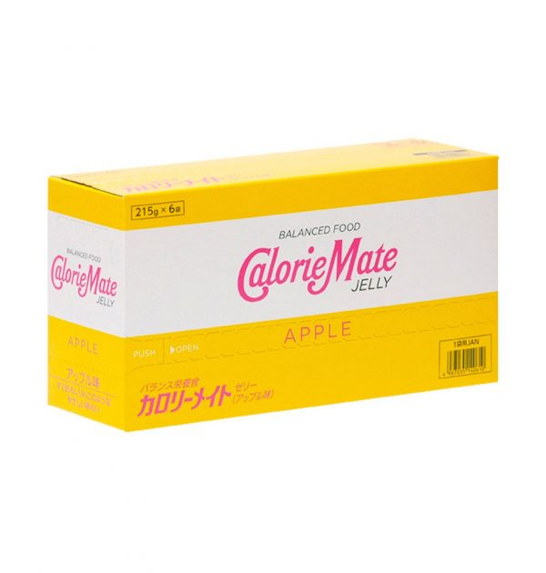 CALORIE MATE Energy Jelly Drink Apple Made in Japan