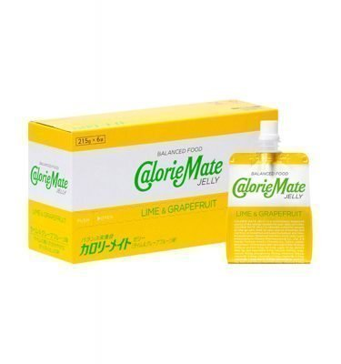 CALORIE MATE Energy Jelly Drink Lime Grapefruit Made in Japan