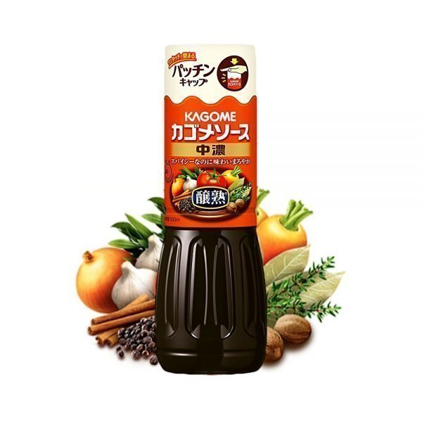 KAGOME Sauce Midium Thickness 500ml - Made in Japan