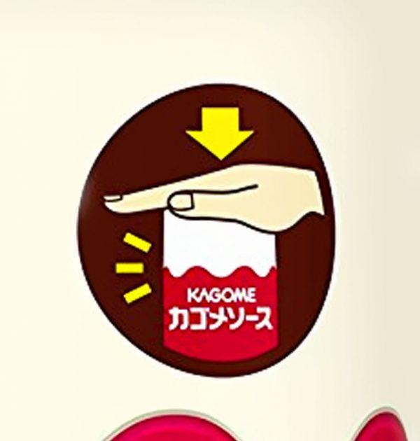 KAGOME Sauce Midium Thickness 500ml Made in Japan