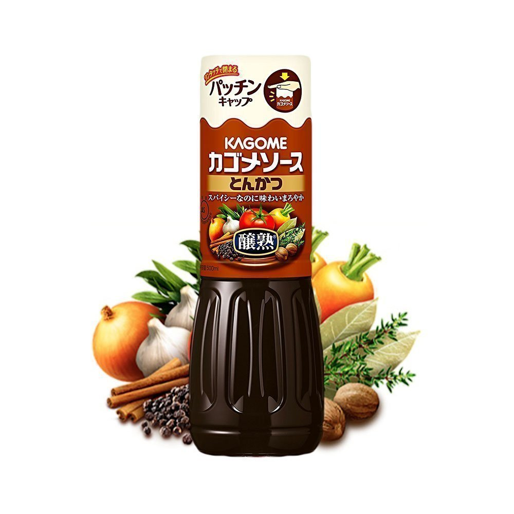 Kagome Tonkatsu Sauce 500ml Made In Japan Takaski Com