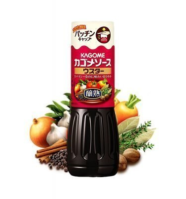 KAGOME Worcester Sauce 500ml Made in Japan