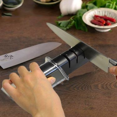 KAI Sekimagoroku Diamond & Ceramic Knife Sharpener Made in Japan