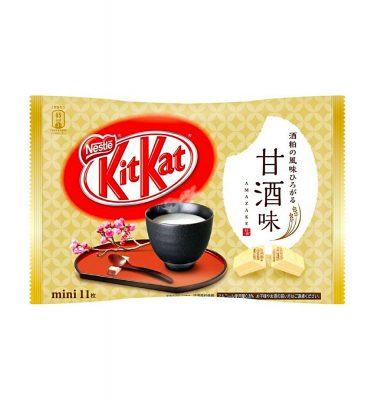 KIT KAT Amazake Mini 11psc Available Only in Japan & Limited Time