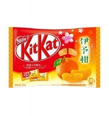 Kit Kat Japanese Iyokan Mandarin Orange 12 Pieces Available Only in Japan