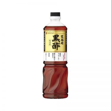 MIZKAN Pure Brown Rice Genmai Black Vinegar 500ml Made in Japan