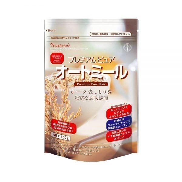 NISSHOKU Premium Pure Oats Oatmeal Made in Japan