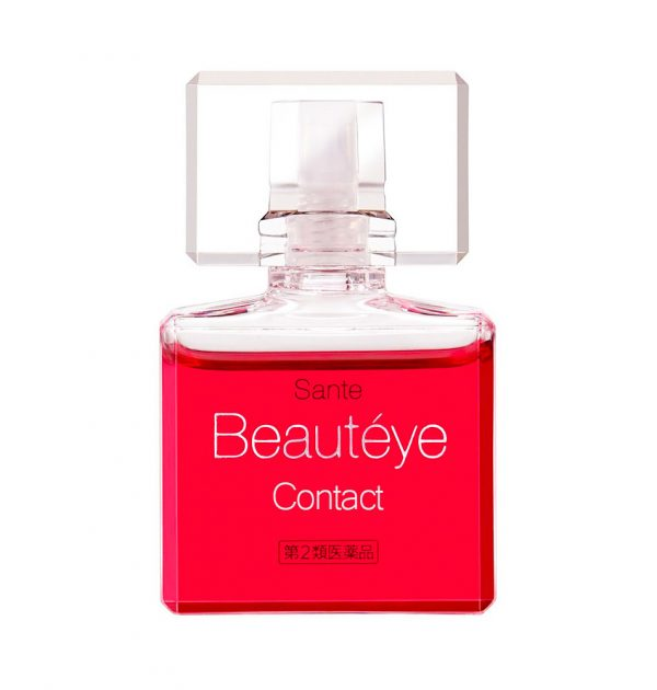 SANTEN Beauteye Contact Lenses Eye Drop Made in Japan