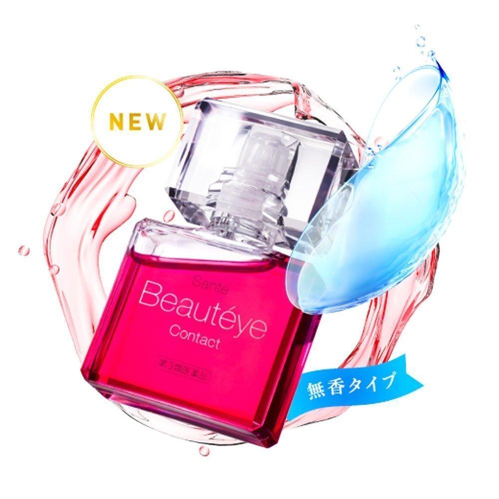 SANTEN Beauteye Contact Lenses Eye Drop Made in Japan