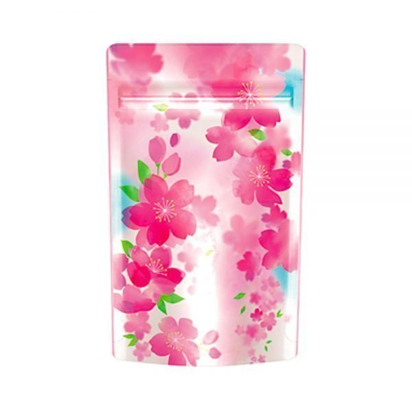 Stand Bag with Sealable Zipper Sakura Spring Made in Japan
