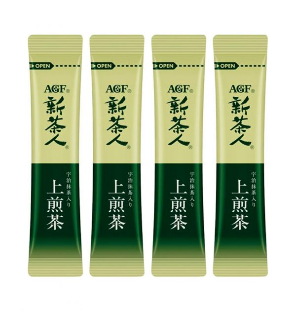 AGF BLENDY Concentrated Japanese Instant Rich Green Tea Sencha Powder Made in Japan