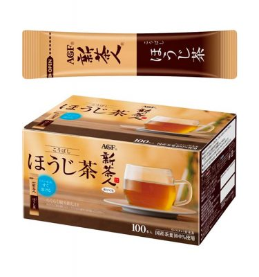 AGF BLENDY Japanese Hojicha Roasted Green Tea Instant Beverage Made in Japan