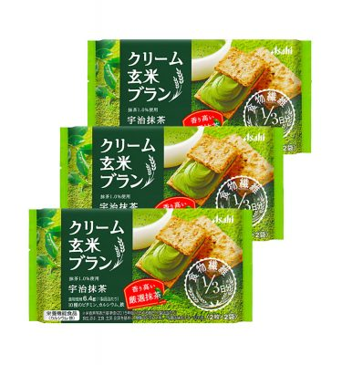 ASAHI Balanceup Cream Brown Rice Blanc Uji Matcha Made in Japan