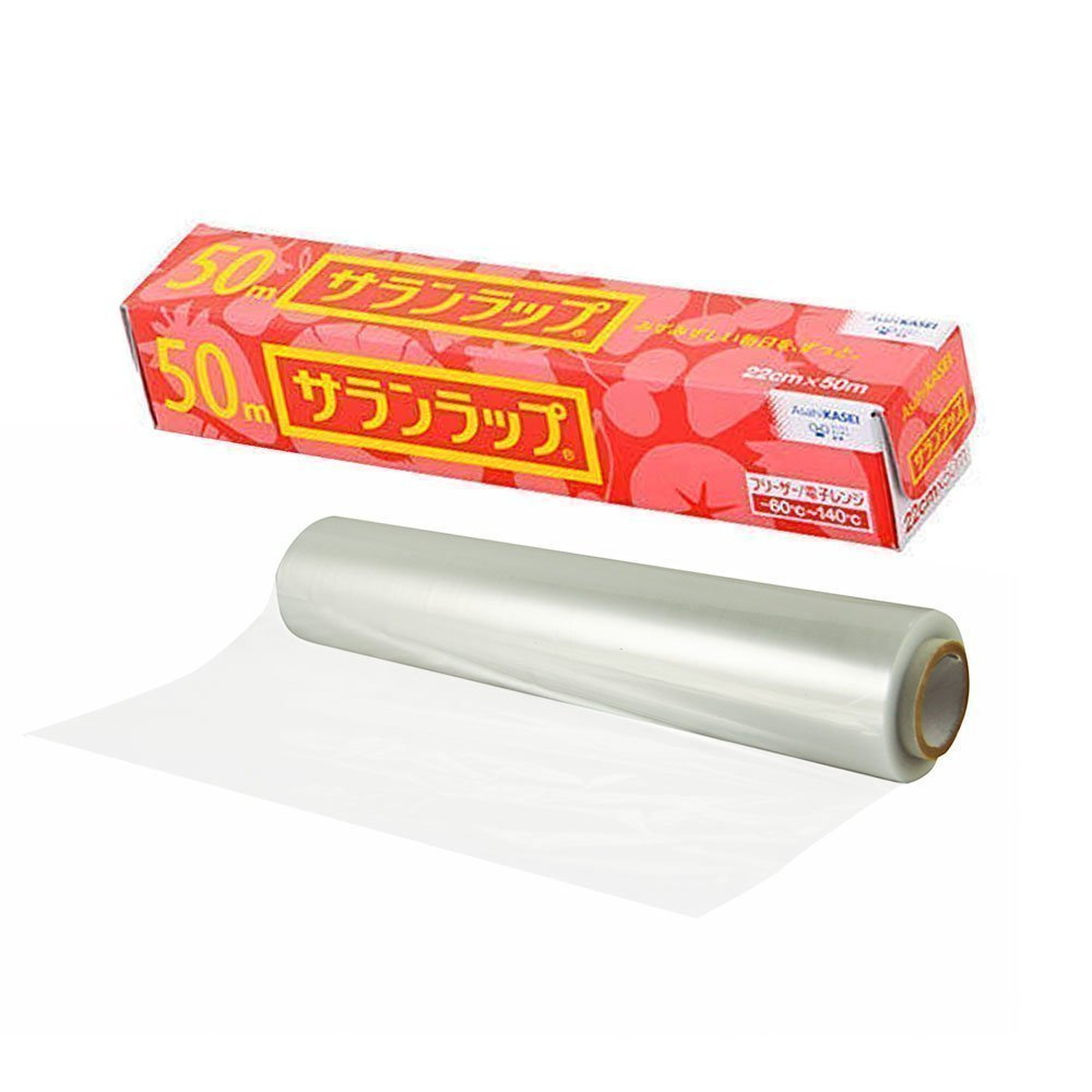 asahi kasei saran wrap cling food storage film 50m made in japan