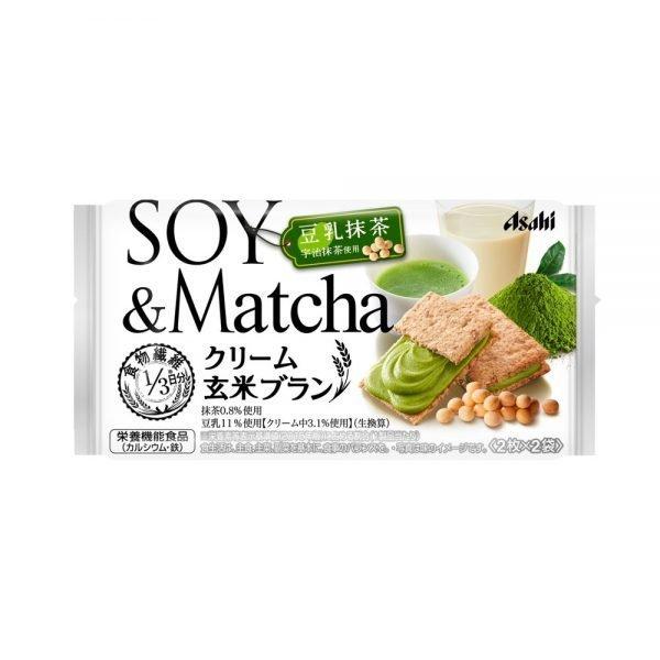 ASAHI Balanceup Cream Brown Rice Blanc Uji Matcha Made in Japan