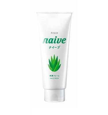 KRACIE Naive Facial Cleansing Face Wash Foam Aloe Made in Japan