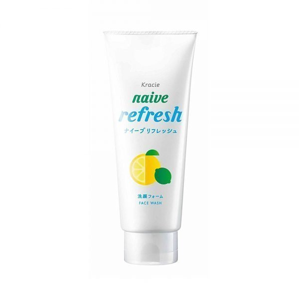 KRACIE Naive Facial Cleansing Face Wash Foam Citrus Refresh Made in Japan