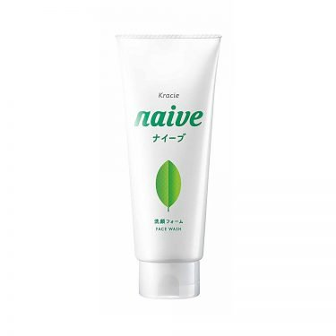 KRACIE Naive Facial Cleansing Face Wash Foam Green Tea Made in Japan