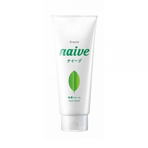 KRACIE Naive Facial Cleansing Face Wash Foam Green Tea Made in Japan