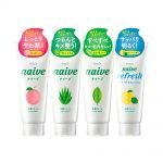 KRACIE Naive Facial Cleansing Face Wash Foam Peach Made in Japan