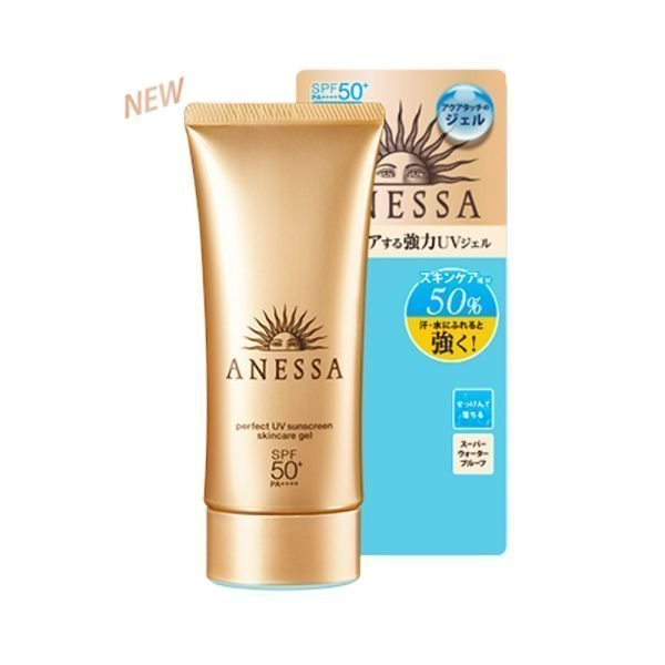 SHISEIDO New 2018 Anessa Perfect UV Sunscreen Skin Care Gel Made in Japan