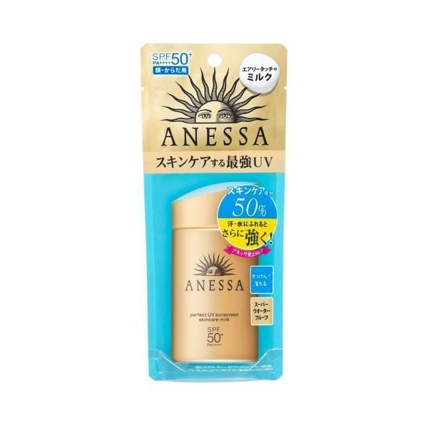 SHISEIDO New 2018 Anessa Perfect UV Sunscreen Skin Care Milk 60ml Made in Japan