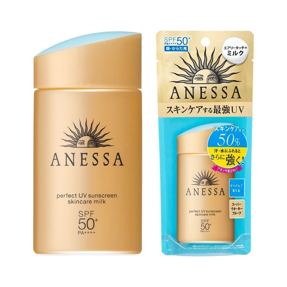 Skincare Termahal: SHISEIDO New Anessa Perfect UV Sunscreen Skin Care Milk