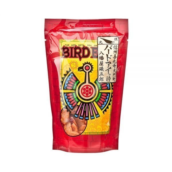 YAWATAYA ISOGORO Shichimi Togarashi Rice Crackers Bird Eyes Very Hot Made in Japan